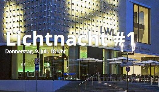 [Münster, 9.7. ab 18 Uhr] Lichtnacht Nr. 1 - Eintritt ins LWL-Museum für Kunst und Kultur umsonst