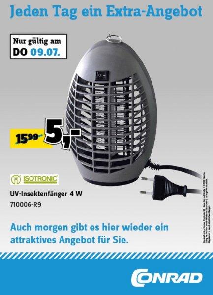 Isotronic 4W UV Insektenvernichter 5€ LOKAL Conrad Hamburg
