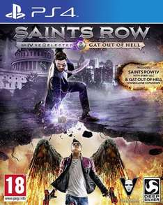 (Gameware.at) Saints Row 4 Re-Elected + Gat out of Hell, PS4, EU-Version für 19,99€ + 2,99€ Vsk.