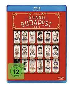 [Prime] Grand Budapest Hotel (Bluray) @Amazon.de