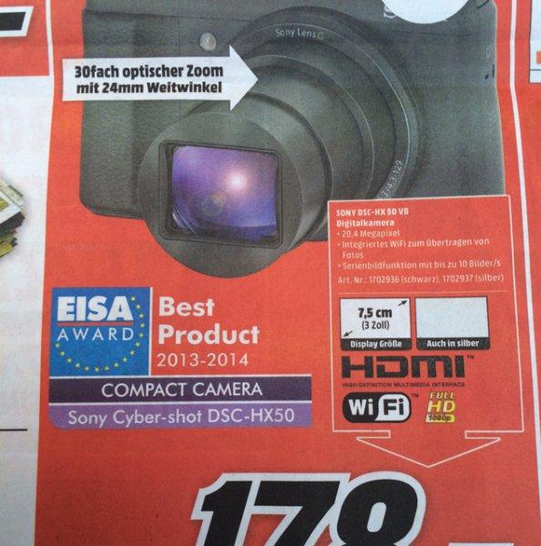 Sony DSC-HX 50 VB [Lokal MM Aschaffenburg]