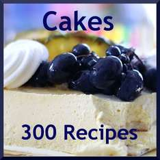 Amazon App des Tages 300 Classic Cake Recipes