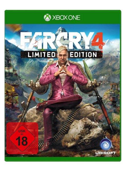 saturn.de - Far Cry 4 Limited Edition Xbox One - für 27,99 € durch Abholung und 5€ Newsetter Gutschein