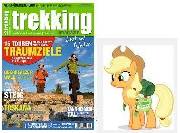 """1x kostenlose Ausgabe """"Trecking"""" (Print Variante)"""