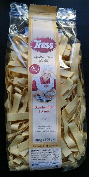 Tress Nudeln (versch. Sorten) @ Rewe 1,99€ / 500g-Packung + oftmals 20% gratis (1,67€ pro 500g) statt 3,19€ (regional Süddeutschland?)
