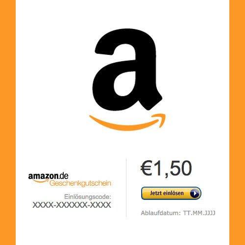[Ebay] 1,50 € Amazon Gutschein für 1,15€