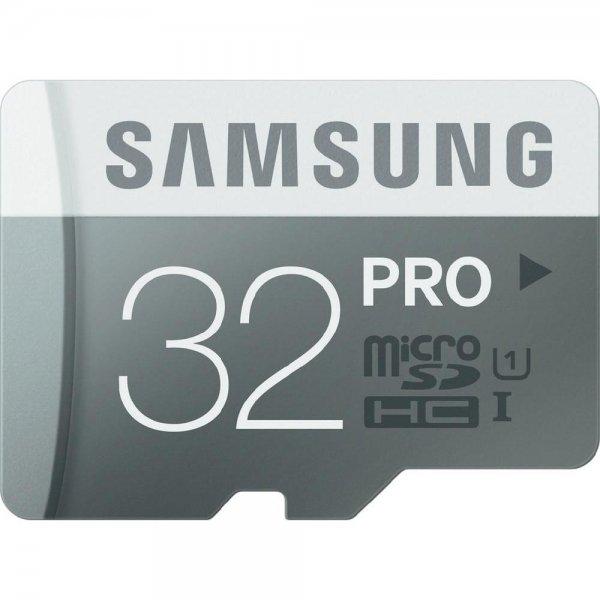 Samsung microSDHC Pro 32GB Class 10 (Lesen: 90 MB/s/ Schreiben: 50 MB/s) für 14,99€ @Conrad Filialen