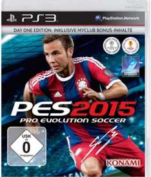 Amazon prime: PES 2015 inkl. original PES Fußball (PS3 und PC)