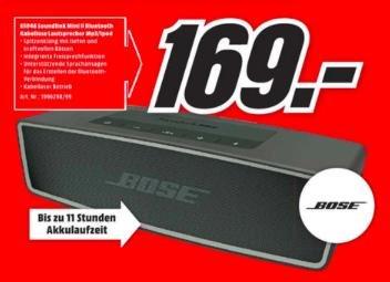 [Lokal MM Weiterstadt] Bose Soundlink Mini II 169 EUR