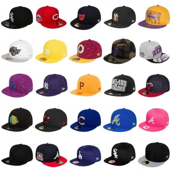 (Ebay) New Era Snapback Caps & Fitted Caps - verschiedene Farben und Größen für je 14,99 EUR