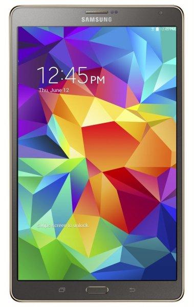 [Amazon.it] Samsung Galaxy Tab S 8.4 (8.4? 2560×1600 AMOLED, Samsung Exynos 1,8 GHz Octacore, 3 GB RAM, 16 GB intern, microSD, GPS, Android 5.0) für 254,48€