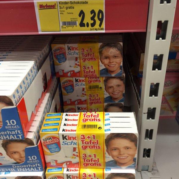 Kinder Riegel 400g [Lokal/Solingen/Kaufland]