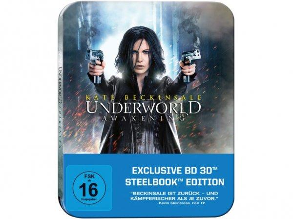 (Saturn) Underworld Awakening – 3D Steelbook Edition - (Blu-ray 3D) für 9,99 EUR