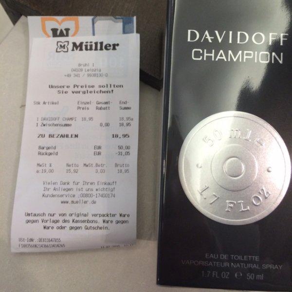 Davidoff Champion Leipzig Müller