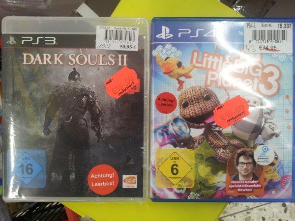 [Lokal][Real][Siegen] Dark Souls 2 (PS3), LBP3 (PS3+PS4) für jeweils 15€