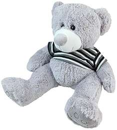 [Amazon-Prime]Happy People 58225 - Teddy mit Strickpullover, 70 cm
