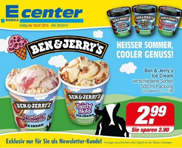 [Lokal Münster] 500ml Ben & Jerry's Eis