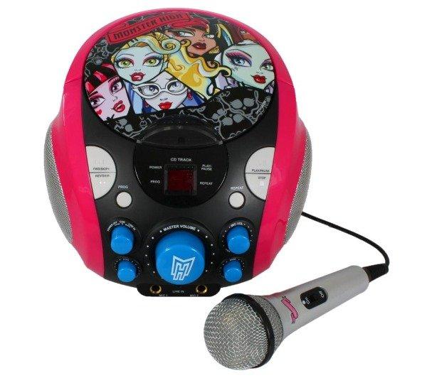 Monster High tragbare CDG Karaoke-Maschine für 27,22€ inkl. Versand bei Tech Training bei Pixmania.de