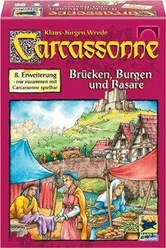"""Carcassonne 8. Erweiterung """"Burgen und Brücken"""" für nur 6,95 €"""