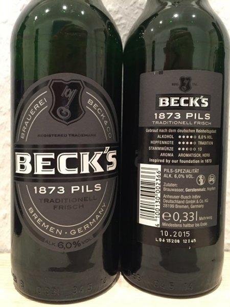[HOL'AB! GETRÄNKEMARKT] 1 Flasche Becks 1873 GRATIS