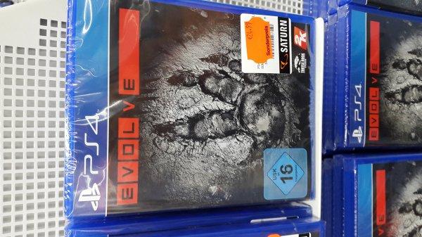 [LOKAL Saturn Schloßstr./Berlin] Evolve PS4 24,99€