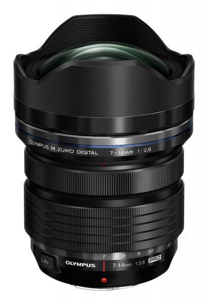 Amazon:Olympus M.Zuiko Digital ED 7-14 mm 1:2.8 Pro Objektiv 1244,15€