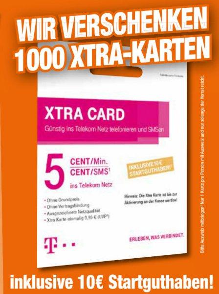 [LOKAL][HEM Expert] Verschenken je Markt 1000 Xtra Cards mit 10 € Startguthaben