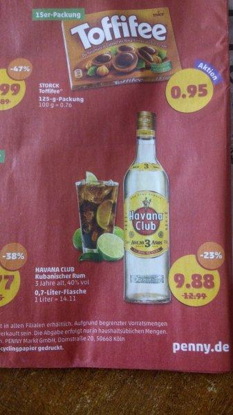 Havana Club 3 Anos, Penny FramStag 17.7-18.7 8.38€ bzw. 9.88€ [NRW / überall?]