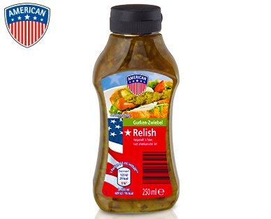 [Aldi Süd] - AMERICAN RELISH für -,99 je 250 ml Flasche ab Donnerstag 16.07.2015
