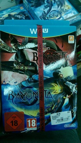 [Media Markt Chorweiler - Lokal] Wii U - Bayonetta 1+2 für 30€, Bayonetta 2 (einzeln) für 20