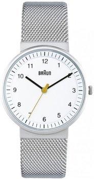 [amazon.de] Braun BN0031WHSLMHL Damenuhr mit Milanaise Armaband für 60,98€ incl.Versand!