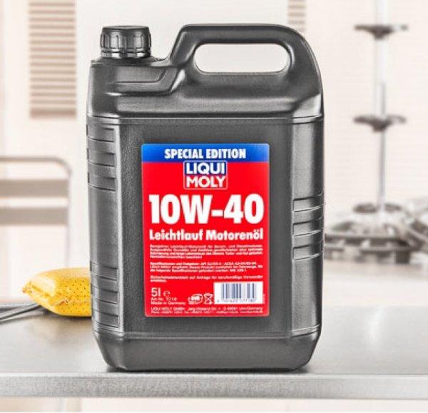 14,99€ Liqui Moly Leichtlauf-Motorenöl 10W-40 5L Kanister [Kaufland] ab 20.07.15