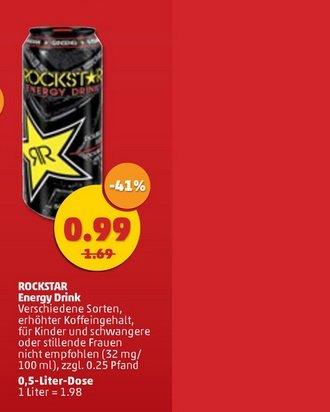 [Penny/Bundesweit] Rockstar Energy Drink 0,99€ + Pfand