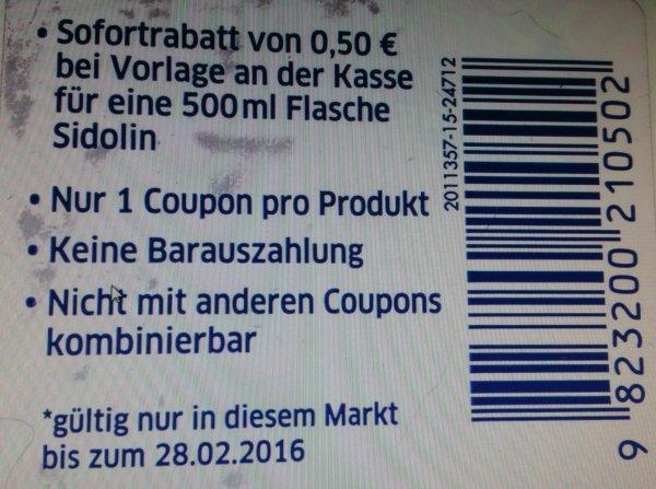 Sidolin für 0,79 € bei Globus-Koblenz ( evtl. Bundesweit)