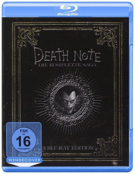 Death Note - Die komplette Saga [3 Blu-rays] für 13,97€ @Amazon.de (Prime)