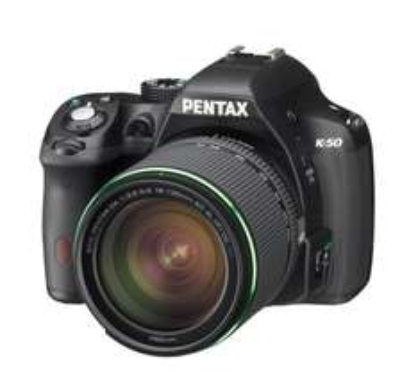 [Amazon.fr] Pentax K-50 schwarz Kit 18-135 WR