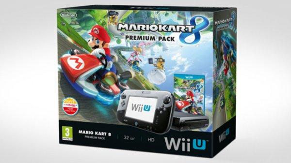 [Ebay@Get-it-Quick] Nintendo Wii U Konsole Premium Pack 32 GB Schwarz inkl. Mario Kart 8 (CD Version)