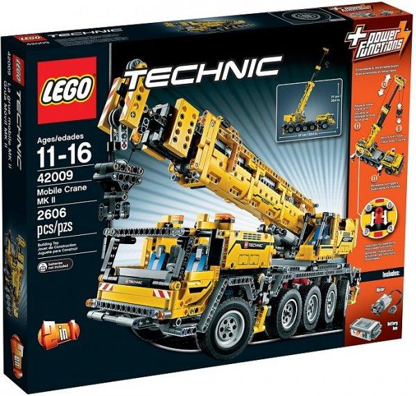 2 x Lego Schwerlastkran 42009 für 322 € + 82 € in Superpunkte