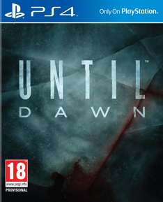 Until Dawn Extended Edition (PS4) @zavvi.de