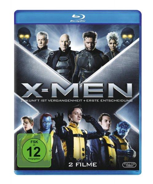 (Amazon Prime) X-Men: Erste Entscheidung / X-Men: Zukunft ist Vergangenheit [2 Blu-rays] für 14,97 EUR