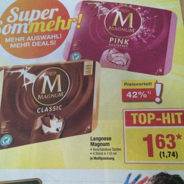 [Metro/Bundesweit] Lagnese Magnum Eis für 1,74€