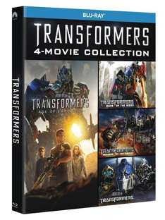 Transformers Teil 1-4 [Blu-ray-Box] für 23,21€ @Amazon.it
