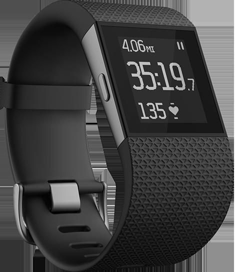 [Update: Teurer!]Fitbit Surge Schwarz - Größe S - 196,32€, Größe L - 207,08€, Proshop.de