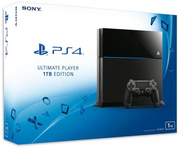 PlayStation 4 1Terabyte ink. kostenloser Versand