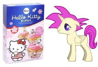 Hello Kitty Muffins, Backmischung (Penny Markt, bundesweit?)