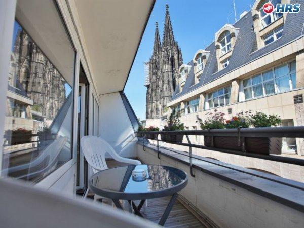 Hotel Callas am Dom Köln Standartzimmer 2 Personen ÜF, 44,- EUR @ HRS