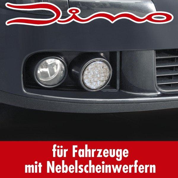 @Amazon Prime: Dino 610851 VW Golf 5 LED Tagfahrlicht mit Grilleinsätzen ECE R87 geprüft und eintragungsfrei - Für Fahrzeuge mit Serien-Nebellicht