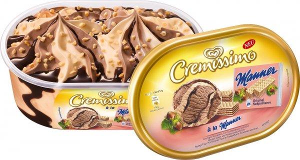 (Kaufland) Langnese Cremissimo je 900-1000ml Packg. nur 1,88 Euro statt 3,29 Euro