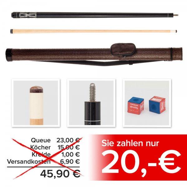 """Billard Queue Set """"Kronos"""": Queue, Köcher, 2x Kreide für 20€ @eBay"""