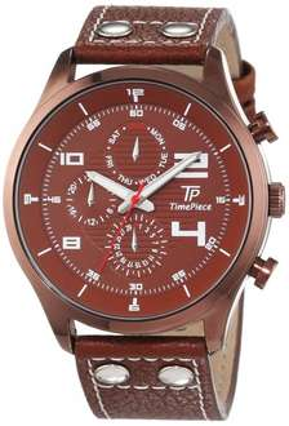 [Amazon Blitzangebot] Time Piece Herren-Armbanduhr TPGA-90950-82L für 28,99 EUR